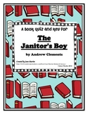 The Janitor's Boy, by Andrew Clements: An End-of-Book Quiz