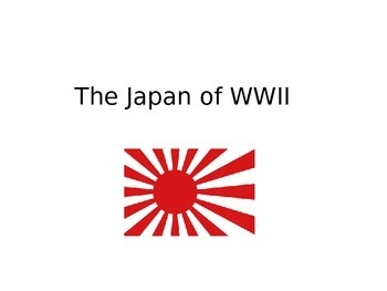 The Japan of World War II