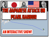 Pearl Harbor and the Japanese Attack in WWII!  An Interactive and Engaging Show!