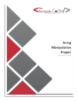 The Java String Manipulation Project
