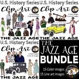 The Jazz Age The 1920s Clip Art Bundle