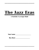 The Jazz Eras - YouTube Scavenger Hunt (Project or Final Assessment, Jazz Band)