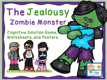 Attack The Jealousy Zombie (CBT) Activities and Worksheets