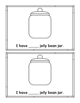 Jelly Bean Counting Interactive Emergent Reader
