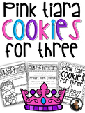 Pink Tiara Cookies for Three Book Study by Maria Dismondy