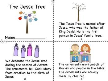 The Jesse Tree Mini Book