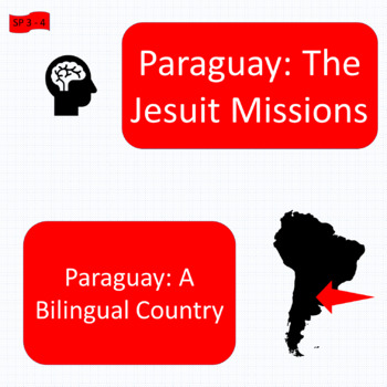 The Jesuit missions / A bilingual country; 2 content-based units - SP Inter. 2