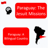 The Jesuit missions (1), A bilingual country (2), Paraguay units - SP Inter. 2