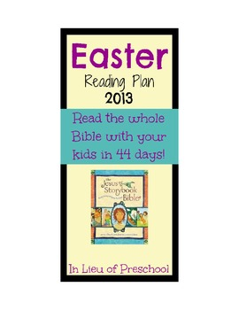 Jesus Storybook Bible Worksheets Teaching Resources Tpt