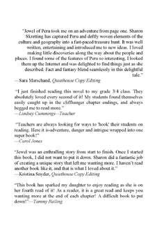 The Jewel of Peru - Novel/Mentor Text