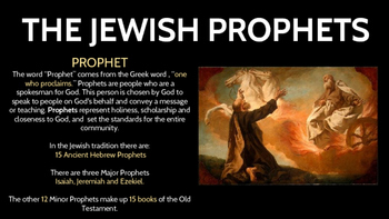 The Jewish Prophets