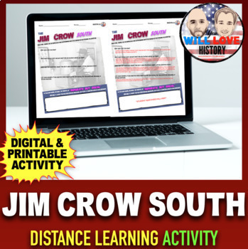 The Jim Crow South Activty