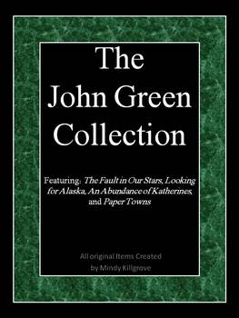 The John Green Collection: Four Study Units in One