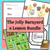 The Jolly Barnyard Activity Guide Bundle 6 Farm Animal Lessons