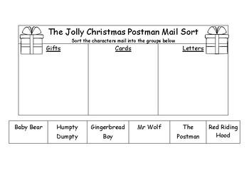 The Jolly Christmas Postman Activities