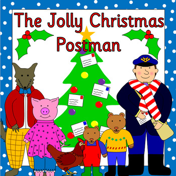 The Jolly Christmas Postman book study