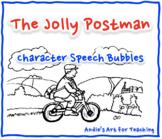 The Jolly Postman Writing Activity: Character Speech Bubbles