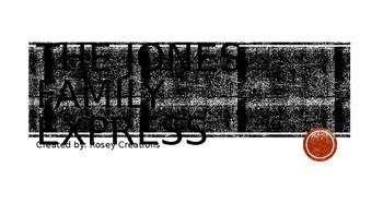 The Jones Family Express - Treasures Unit 3 Week 5!