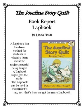 The Josefine Story Quilt Book Report and Lapbook