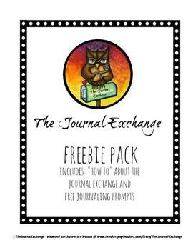 The Journal Exchange Freebie Pack
