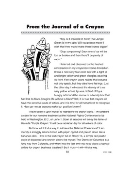 The Journal of a Crayon