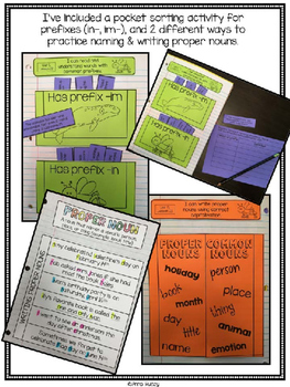 The Journey (Interactive Notebook Pages)