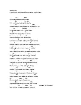 The Journey Lyrics and Chords