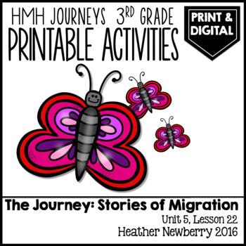 The Journey, Stories of Migration: Journeys 3rd Grade (Unit 5, Lesson 22)