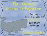 The Journey Stories of Migration Journeys Unit 5 Lesson 22 Third grade Sup. Act.