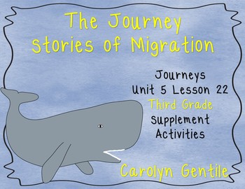The Journey Stories of Migration Journeys Unit 5 Lesson 22