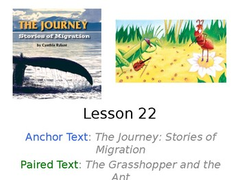 The Journey: Stories of Migration PowerPoint Journeys Grade 3 Weekly Activities