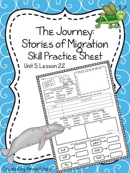 The Journey: Stories of Migration (Skill Practice Sheet)