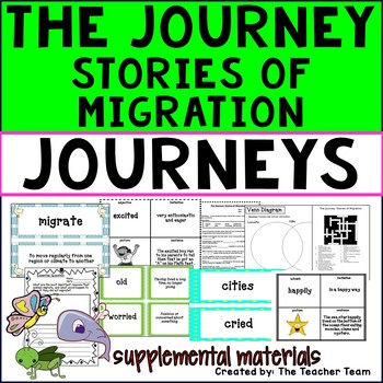 The Journey: Stories of Migration Journeys 3rd Grade Unit 5 Lesson 22 Activities