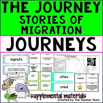The Journey Stories of Migration Journeys Third Grade  ~ S