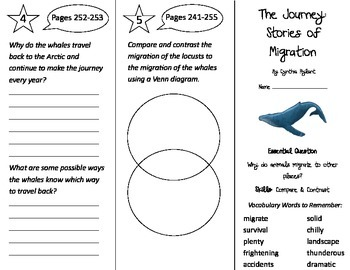 The Journey: Stories of Migration Trifold - Journeys 3rd G U 5 Wk 2 (2014, 2017)