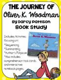 The Journey of Oliver K. Woodman Book Study: Organizers and Notebook Pages