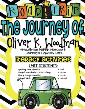 The Journey of Oliver K. Woodman (Journeys Supplemental Ma