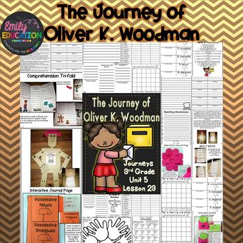 The Journey of Oliver K. Woodman Journeys 3rd Grade Supplement Activities