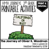 The Journey of Oliver K. Woodman: Journeys 3rd Grade (Unit 5, Lesson 23)