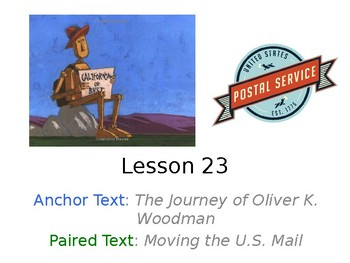 The Journey of Oliver K. Woodman PowerPoint Weekly Activities Journeys Grade 3