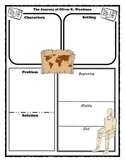 The Journey of Oliver K. Woodman Story Map Graphic Organizer