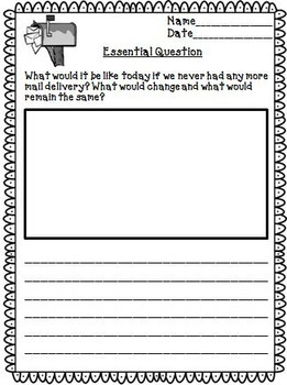 The Journey of Oliver K. Woodman Journeys 3rd Grade Unit 5 Lesson 23 Activities