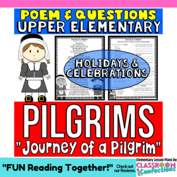 Thanksgiving Reading: Pilgrims: Poem and Questions