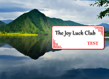 The Joy Luck Club Test