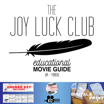 The Joy Luck Club Movie Guide | Film Questions | Worksheet (R - 1993)