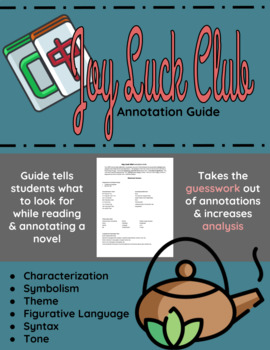 The Joy Luck Club Annotation Guide