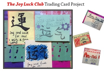 The Joy Luck Club Trading Card Project