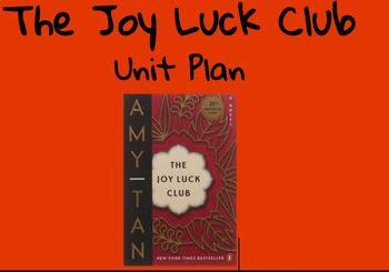 The Joy Luck Club Unit Lesson Plans