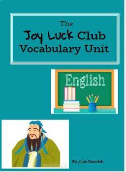 The Joy Luck Club Vocabulary Unit