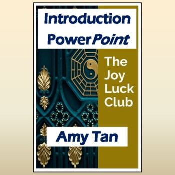 """""""The Joy Luck Club"""" by Amy Tan: PPT Introduction, Student Guide, & Family Trees"""